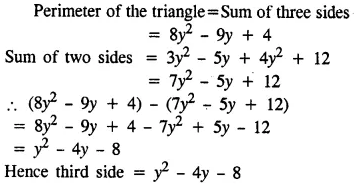 Selina Concise Mathematics Class 8 ICSE Solutions Chapter 11 Algebraic Expressions (Including Operations on Algebraic Expressions) Ex 11B 20