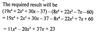 Selina Concise Mathematics Class 8 ICSE Solutions Chapter 11 Algebraic Expressions (Including Operations on Algebraic Expressions) Ex 11B 22
