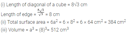 Selina Concise Mathematics Class 8 ICSE Solutions Chapter 21 Surface Area, Volume and Capacity (Cuboid, Cube and Cylinder) Ex 21C 27