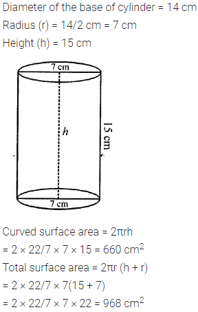 Selina Concise Mathematics Class 8 ICSE Solutions Chapter 21 Surface Area, Volume and Capacity (Cuboid, Cube and Cylinder) Ex 21D 35