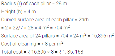 Selina Concise Mathematics Class 8 ICSE Solutions Chapter 21 Surface Area, Volume and Capacity (Cuboid, Cube and Cylinder) Ex 21E 55
