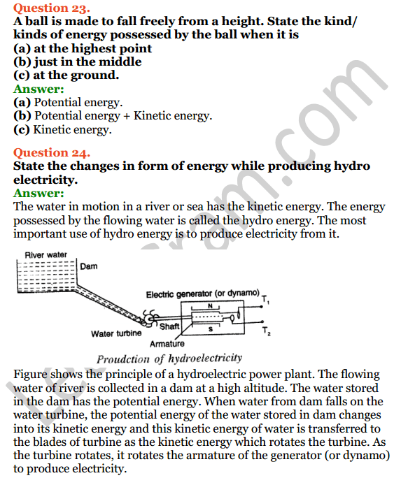 Selina Concise Physics Class 7 ICSE Solutions Chapter 3 Energy 13