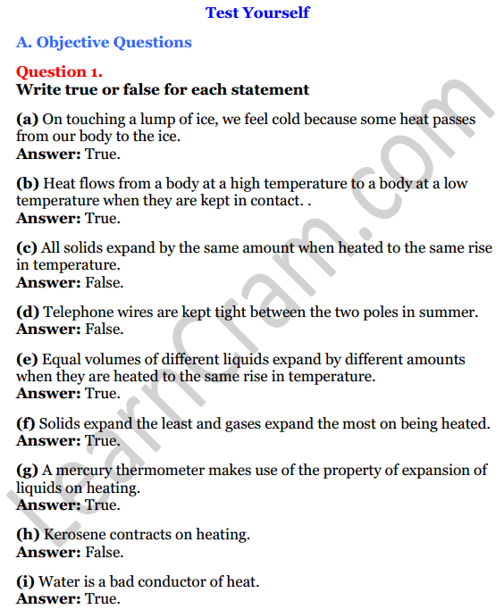 Selina Concise Physics Class 7 ICSE Solutions Chapter 5 Heat 1
