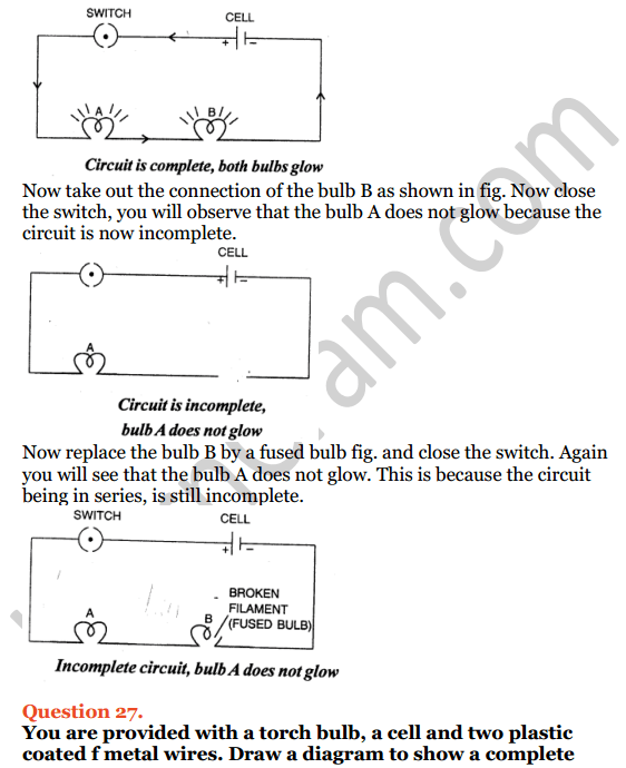 Selina Concise Physics Class 7 ICSE Solutions Chapter 7 Electricity and Magnetism 18