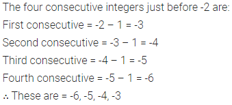 ML Aggarwal Class 6 Solutions for ICSE Maths Chapter 3 Integers Ex 3.1 7