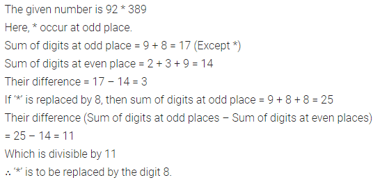 ML Aggarwal Class 6 Solutions for ICSE Maths Chapter 4 Playing with Numbers Check Your Progress 8