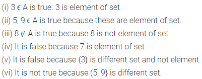 ML Aggarwal Class 6 Solutions for ICSE Maths Chapter 5 Sets Check Your Progress 2
