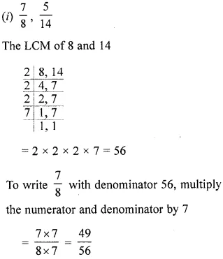 ML Aggarwal Class 6 Solutions for ICSE Maths Chapter 6 Fractions Ex 6.3 26