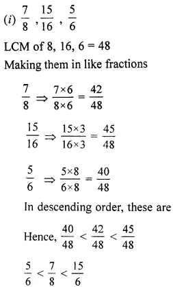 ML Aggarwal Class 6 Solutions for ICSE Maths Chapter 6 Fractions Ex 6.4 22