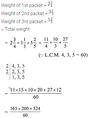 ML Aggarwal Class 6 Solutions for ICSE Maths Chapter 6 Fractions Ex 6.7 6