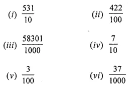 ML Aggarwal Class 6 Solutions for ICSE Maths Chapter 7 Decimals Ex 7.2 1