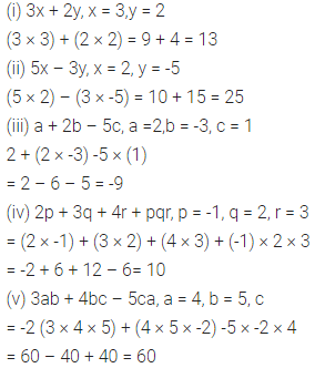 ML Aggarwal Class 6 Solutions for ICSE Maths Chapter 9 Algebra Ex 9.4 2