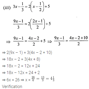 ML Aggarwal Class 6 Solutions for ICSE Maths Chapter 9 Algebra Ex 9.5 15