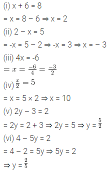 ML Aggarwal Class 6 Solutions for ICSE Maths Chapter 9 Algebra Ex 9.5 3