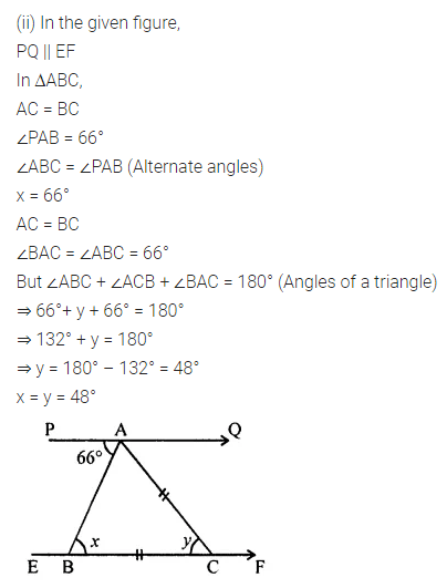 ML Aggarwal Class 7 Solutions for ICSE Maths Chapter 11 Triangles and its Properties Check Your Progress 8
