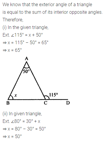 ML Aggarwal Class 7 Solutions for ICSE Maths Chapter 11 Triangles and its Properties Ex 11.2 5