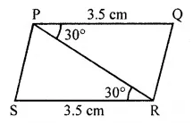 ML Aggarwal Class 7 Solutions for ICSE Maths Chapter 12 Congruence of Triangles Ex 12.1 16
