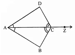 ML Aggarwal Class 7 Solutions for ICSE Maths Chapter 12 Congruence of Triangles Ex 12.2 11
