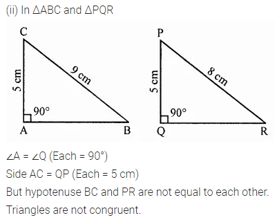 ML Aggarwal Class 7 Solutions for ICSE Maths Chapter 12 Congruence of Triangles Ex 12.2 17