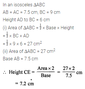 ML Aggarwal Class 7 Solutions for ICSE Maths Chapter 16 Perimeter and Area Ex 16.2 12