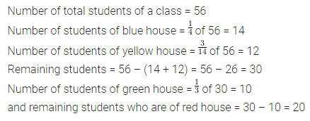 ML Aggarwal Class 7 Solutions for ICSE Maths Chapter 2 Fractions and Decimals Check Your Progress 5