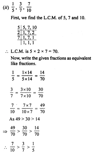 ML Aggarwal Class 7 Solutions for ICSE Maths Chapter 2 Fractions and Decimals Ex 2.1 16