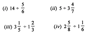 ML Aggarwal Class 7 Solutions for ICSE Maths Chapter 2 Fractions and Decimals Ex 2.4 2
