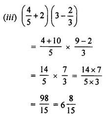 ML Aggarwal Class 7 Solutions for ICSE Maths Chapter 2 Fractions and Decimals Ex 2.7 3