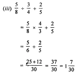ML Aggarwal Class 7 Solutions for ICSE Maths Chapter 2 Fractions and Decimals Ex 2.7 6