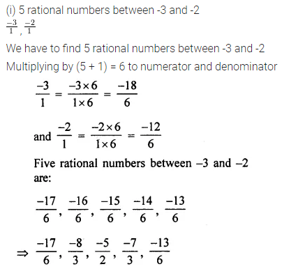 ML Aggarwal Class 7 Solutions for ICSE Maths Chapter 3 Rational Numbers Ex 3.2 18