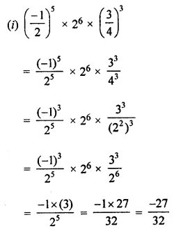 ML Aggarwal Class 7 Solutions for ICSE Maths Chapter 4 Exponents and Powers Ex 4.2 18