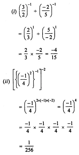 ML Aggarwal Class 7 Solutions for ICSE Maths Chapter 4 Exponents and Powers Ex 4.2 21