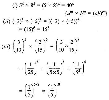 ML Aggarwal Class 7 Solutions for ICSE Maths Chapter 4 Exponents and Powers Ex 4.2 8