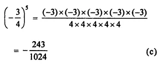 ML Aggarwal Class 7 Solutions for ICSE Maths Chapter 4 Exponents and Powers Objective Type Questions 10