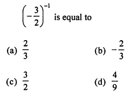 ML Aggarwal Class 7 Solutions for ICSE Maths Chapter 4 Exponents and Powers Objective Type Questions 7