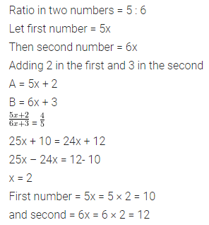 ML Aggarwal Class 7 Solutions for ICSE Maths Chapter 6 Ratio and Proportion Ex 6.1 20