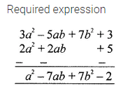 ML Aggarwal Class 7 Solutions for ICSE Maths Chapter 8 Algebraic Expressions Check Your Progress 11