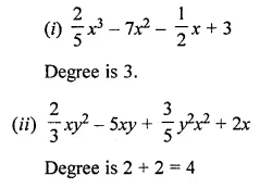 ML Aggarwal Class 7 Solutions for ICSE Maths Chapter 8 Algebraic Expressions Check Your Progress 2