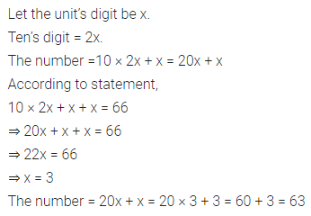 ML Aggarwal Class 7 Solutions for ICSE Maths Chapter 9 Linear Equations and Inequalities Check Your Progress 5