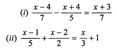 ML Aggarwal Class 7 Solutions for ICSE Maths Chapter 9 Linear Equations and Inequalities Ex 9.1 14