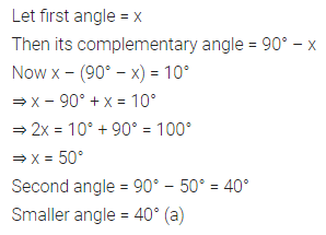 ML Aggarwal Class 7 Solutions for ICSE Maths Chapter 9 Linear Equations and Inequalities Objective Type Questions 18