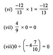 ML Aggarwal Class 8 Solutions for ICSE Maths Chapter 1 Rational Numbers Check Your Progress 4