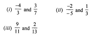 ML Aggarwal Class 8 Solutions for ICSE Maths Chapter 1 Rational Numbers Ex 1.1 6