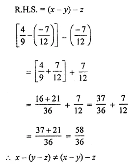 ML Aggarwal Class 8 Solutions for ICSE Maths Chapter 1 Rational Numbers Ex 1.2 12
