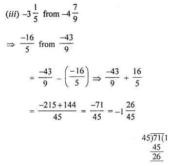 ML Aggarwal Class 8 Solutions for ICSE Maths Chapter 1 Rational Numbers Ex 1.2 4