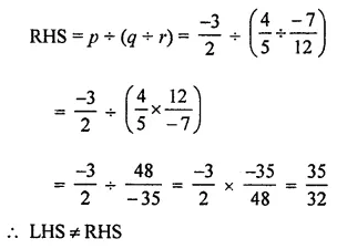 ML Aggarwal Class 8 Solutions for ICSE Maths Chapter 1 Rational Numbers Ex 1.4 12