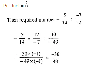 ML Aggarwal Class 8 Solutions for ICSE Maths Chapter 1 Rational Numbers Ex 1.4 7