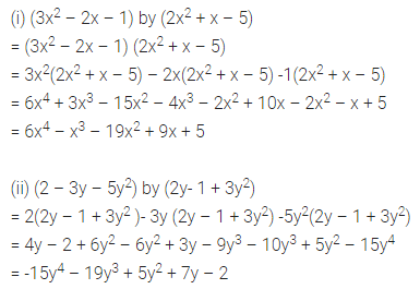 ML Aggarwal Class 8 Solutions for ICSE Maths Chapter 10 Algebraic Expressions and Identities Ex 10.3 5