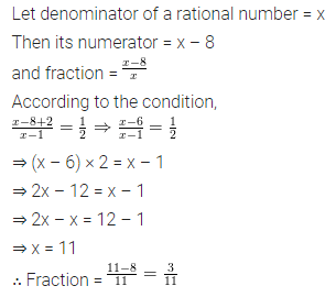 ML Aggarwal Class 8 Solutions for ICSE Maths Chapter 12 Linear Equations and Inequalities in one Variable Check Your Progress 9