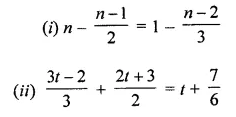 ML Aggarwal Class 8 Solutions for ICSE Maths Chapter 12 Linear Equations and Inequalities in one Variable Ex 12.1 10